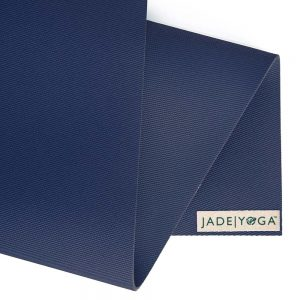 Jade Yoga Harmony 74 Inch Yoga Mat | Midnight Blue - Detail