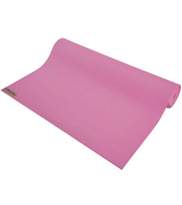 Jade Yoga Harmony 74 Inch Yoga Mat | Orchid - Half Rolled