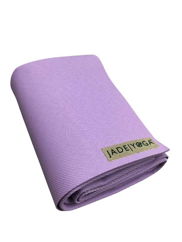 Jade Yoga Voyager Yoga Mat 1.6mm | Lavender - Folded