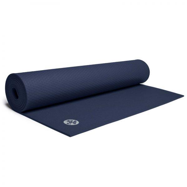 Manduka PROlite Long Yoga Mat | Midnight - Half Rolled