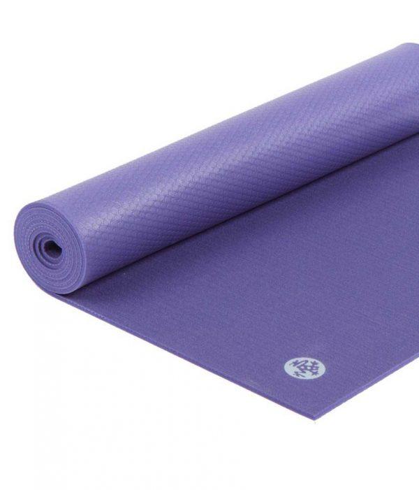 Manduka PROlite Long Yoga Mat | Purple - Half Rolled