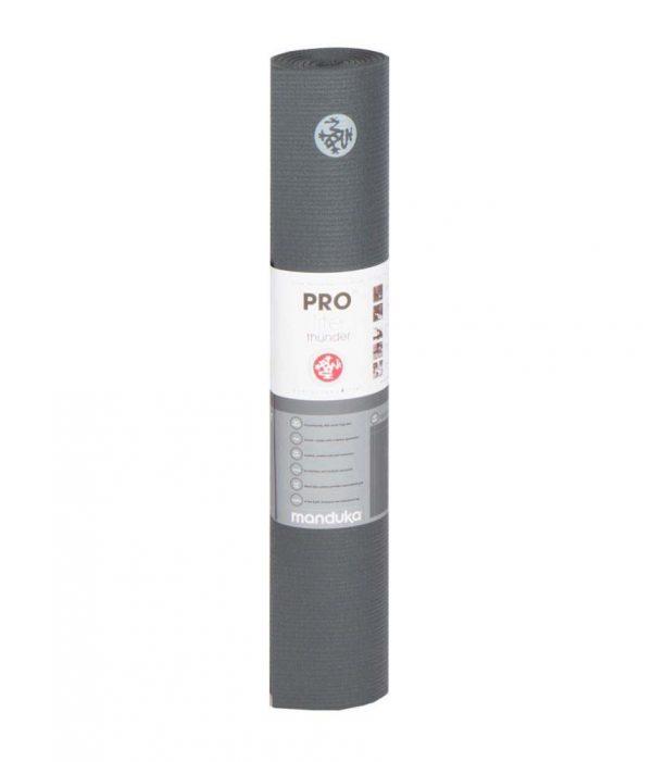 Manduka PROlite Long Yoga Mat | Thunder - Rolled with label