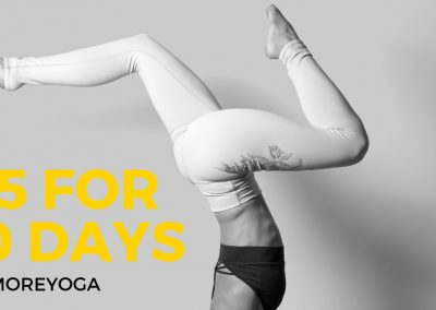 MoreYoga £15 for 20 days