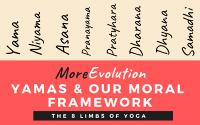 MoreEvolution: Yamas & Our Moral Framework