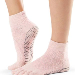 ToeSox Ankle Full Toe Yoga Socks | Chill
