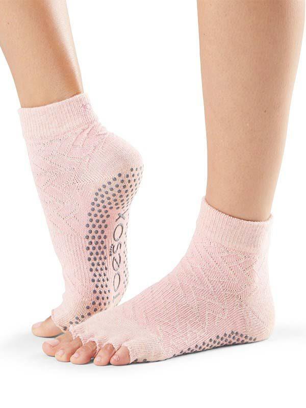 ToeSox Ankle Half Toe Yoga Socks | Chill