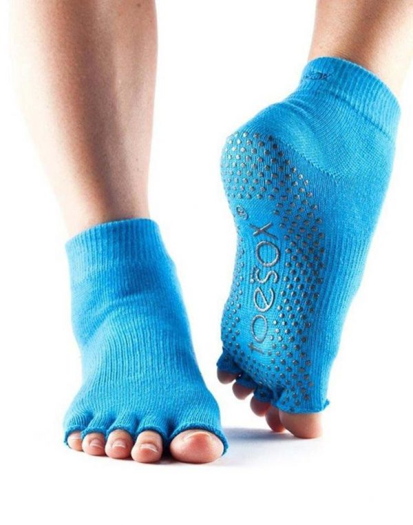 ToeSox Ankle Half Toe Yoga Socks | Skydive