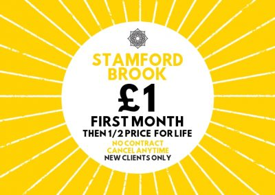 MoreYoga_Stamford Brook - £1 First Month