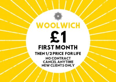 MoreYoga_Woolwich_£1 First Month Offer