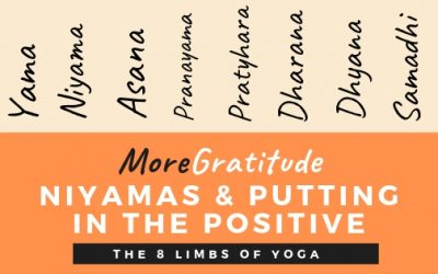 MoreGratitude: Niyamas and Putting in the Positive