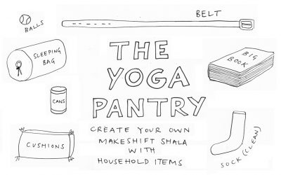 Yoga Pantry: Best Household Substitutes for Yoga Props