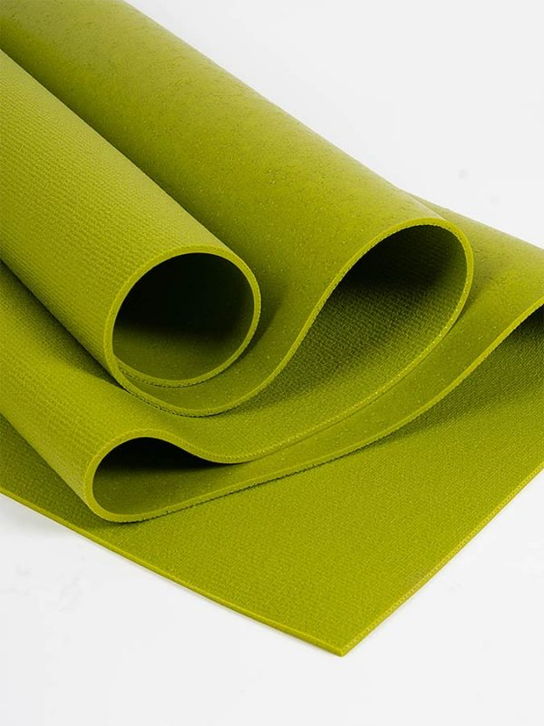 Oeko-Tex Original Sticky Long 4.5mm Yoga Mat - Avocado Green (3)