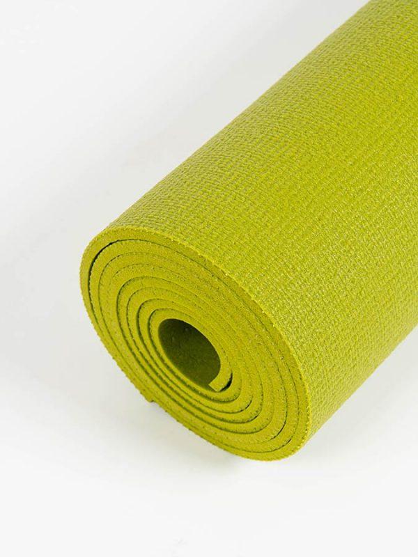 Oeko-Tex Original Sticky Long 4.5mm Yoga Mat - Avocado Green (5)