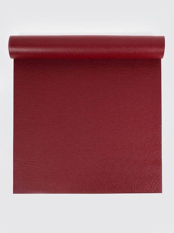 Oeko-Tex Original Sticky Long 4.5mm Yoga Mat - Berry Red (1)