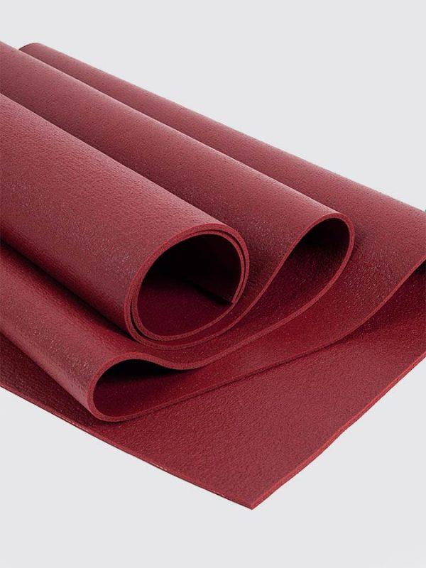 Oeko-Tex Original Sticky Long 4.5mm Yoga Mat - Berry Red (3)