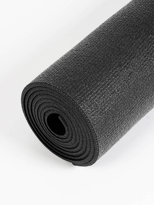 Oeko-Tex Original Sticky Long 4.5mm Yoga Mat - Onyx Black (5)