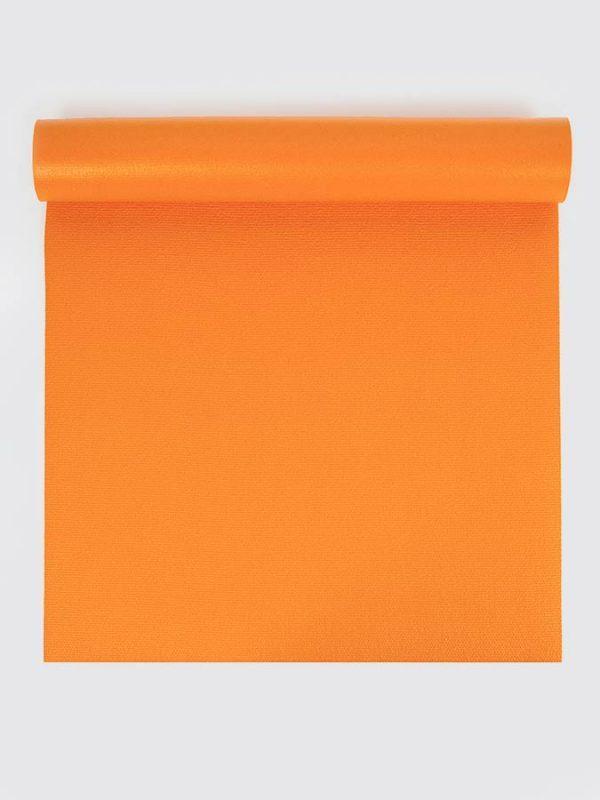 Oeko-Tex Original Sticky Long 4.5mm Yoga Mat - Tangerine Orange (1)