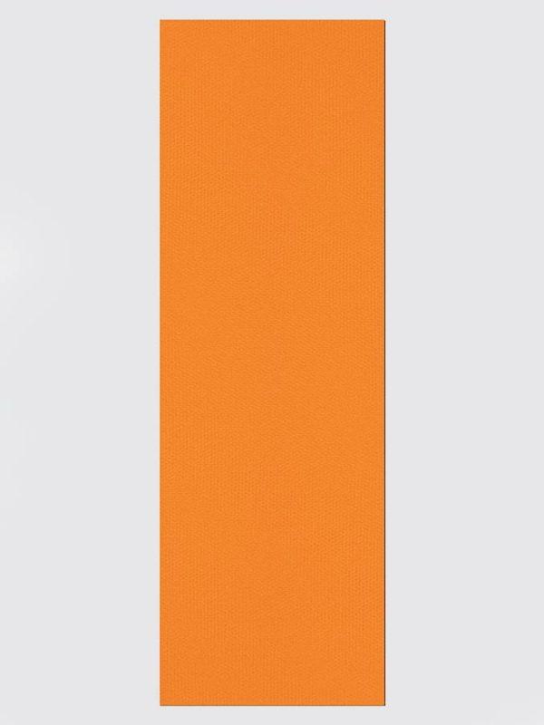 Oeko-Tex Original Sticky Long 4.5mm Yoga Mat - Tangerine Orange (2)