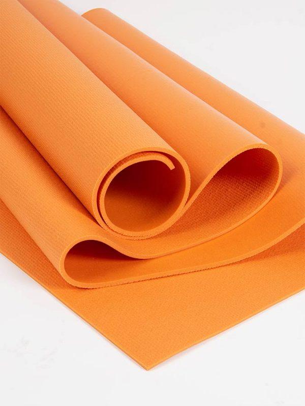 Oeko-Tex Original Sticky Long 4.5mm Yoga Mat - Tangerine Orange (3)