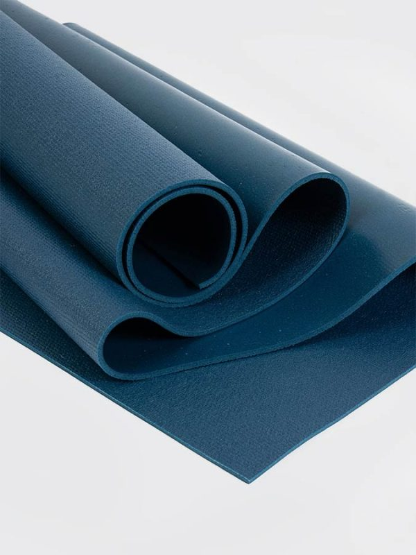 Oeko-Tex Original Sticky Standard 4.5mm Yoga Mat - Aegean Blue (3)