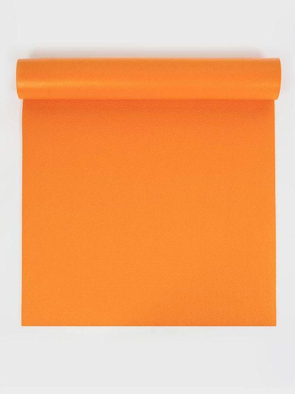 Oeko-Tex Original Sticky Standard 4.5mm Yoga Mat - Tangerine Orange (1)