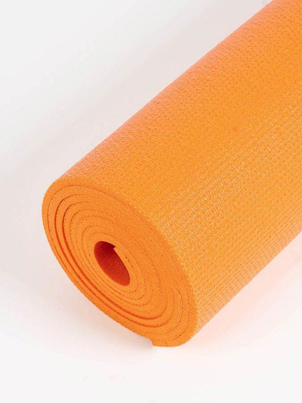 Oeko-Tex Original Sticky Standard 4.5mm Yoga Mat - Tangerine Orange (5)