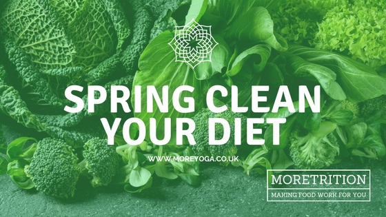 Out with the old and in with the new: Easy ways to spring clean your diet